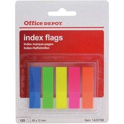 office-depot-index-haftstreifen-neon-farbig-sortiert-12-x-45-mm-12-x-45-mm-5-x-25-streifen