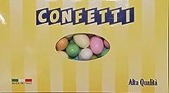 Idea Regalo - Ovetti di Pasqua Confettati Colorati ripieni di morbido Cioccolato al Latte kg 1 - Boccia