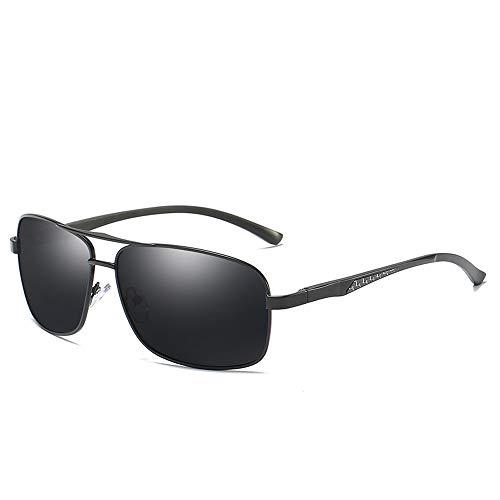 Easy Go Shopping Brillenetui & -Kreuz Unisex-Sonnenbrille mit polarisierten Gläsern von Wellington Sonnenbrillen und Flacher Spiegel (Color : Schwarz, Size : Kostenlos)