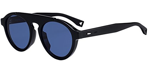 Occhiali da sole fendi fendi angle ff m0013/s black/blue uomo