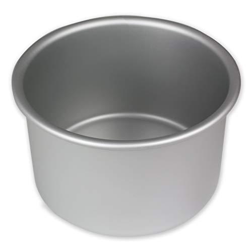 PME RND054 Runde Backform aus eloxiertem Aluminium, 127 x 102 mm, Silver, 12.7 cm (Pan 10 X 12)