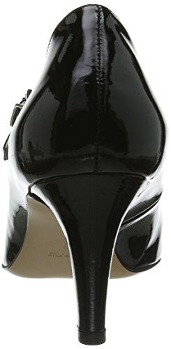 Evita Shoes - Sandali col tacco Pumps geschlossen, Donna Nero (Schwarz)