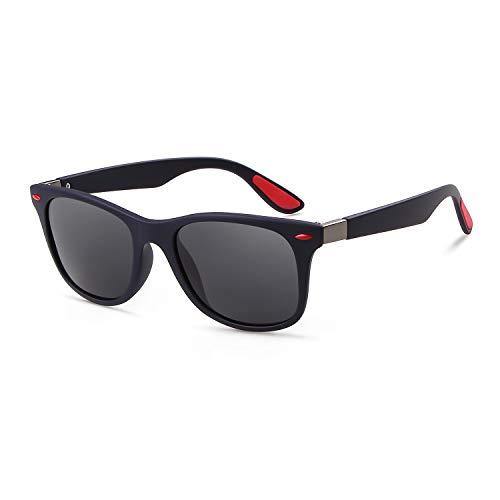 ADEWU Herren Polarisierte Sport Sonnenbrille für das Fahren Angeln Golf