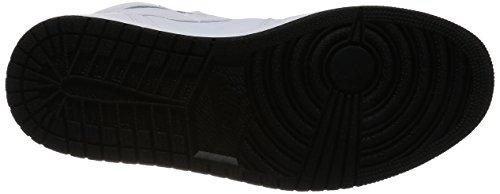 Nike Air Jordan 1 Retro High OG, Scarpe da Ginnastica Uomo white, black-white