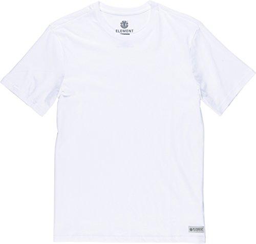 Element Basic Crew Neck T-Shirt Weiß