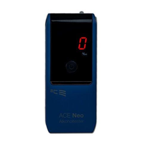 ACE Alkoholtester Neo, TU-Wien-Messgenauigkeit: 95,70% - Polizeigenau (Blau)