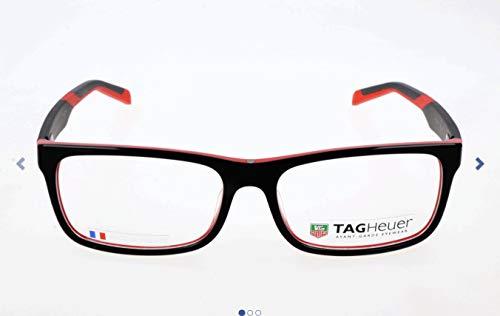 TAG Heuer Unisex-Erwachsene TH-0551 Brillengestelle, Mehrfarbig, 57