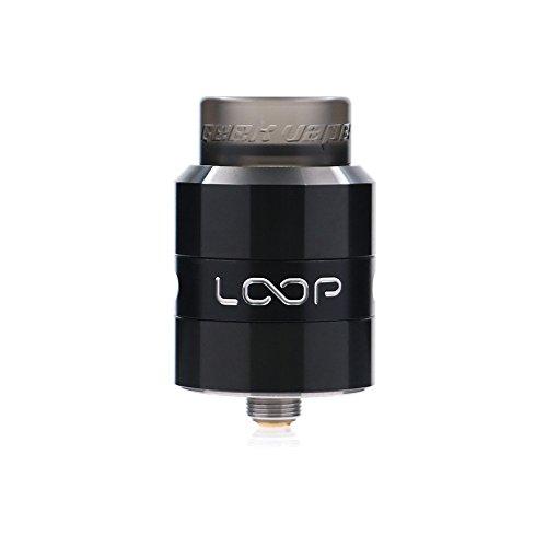 GeekVape Loop RDA Tank für elektronische Zigarette, Top Liquid-einfüllen Vape Tank und Zigarette Verdampfer, nikotinfrei, ohne Liquid Schwarz - Surround-system-basis