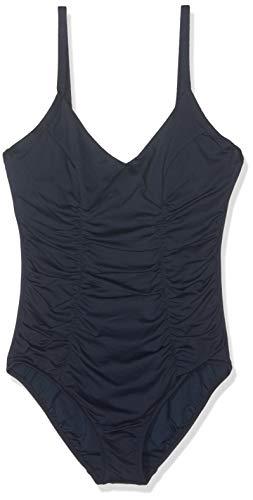 Seafolly Damen Seafolly Dd Cup Maillot Badeanzug,, per pack Blau (Indigo Indigo), 36 (Herstellergröße: 10) -