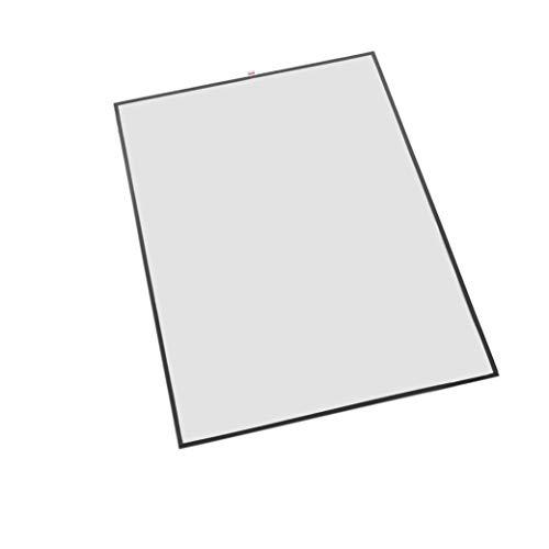 1 Schutzfolie/Schutzhülle für Kundenstopper A1, wasserfeste Plakathülle - doppellagig mit Moosgummidichtung Außenmaß 613mm x 860mm