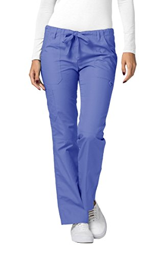 Adar Uniforms Medizinische Schrubb-hose Groß - Damen-Krankenhaus-Uniformhose 510T Farbe: CBL | Größe: S -