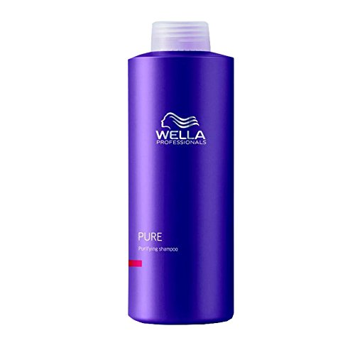 Wella Professionals Balance Pure unisex, Tiefenrenigendes Shampoo 1000 ml, 1er Pack (1 x 1 Stück) - Pure Sanften Shampoo