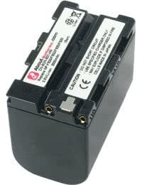 Batterie type SONY NP-FS21, Haute capacité, 3.6V, 3240mAh, Li-ion