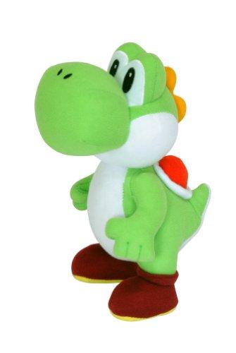 Super Mario - Muñeco de peluche de Yoshi (24 cm)