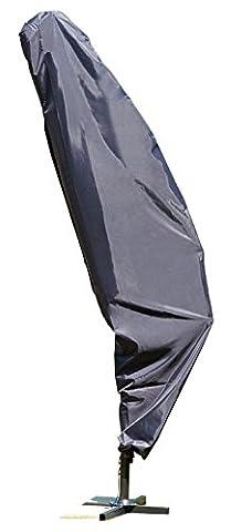 Schutzhülle Deluxe Ampelschirme Wetterschutz durchgehendem Reißverschluss mit Tunnelzugsstem inkl. Seil