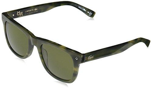 Lacoste sonnenbrille l878s occhiali da sole, verde (grün), 52.0 uomo