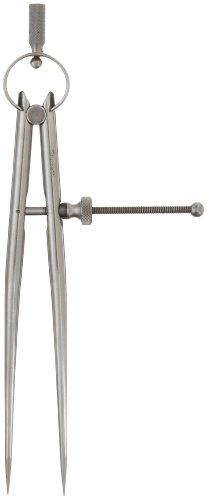 Starrett 277–615,2cm Werkzeugmacher 'spring-type Trennwand mit Rund Beine und massiv Mutter