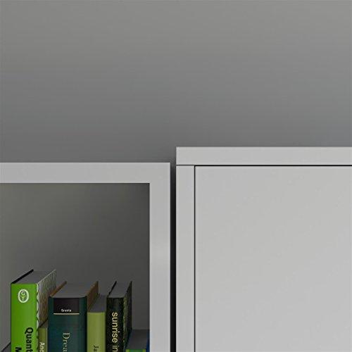 SMARTBett Basic 140×200 Vertikal Weiss Schrankbett | ausklappbares Wandbett, ideal geeignet als Wandklappbett fürs Gästezimmer, Büro, Wohnzimmer, Schlafzimmer - 7