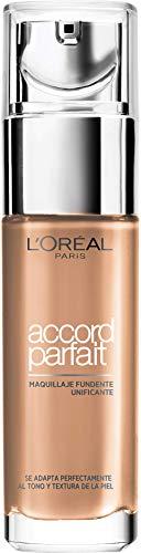 L'Oreal Paris Base de Maquillaje Acabado Natural Accord Parfait 5R Sable Rosé - 30 ml