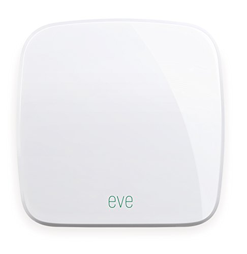 Elgato Eve Room (Vorgängermodell) - Kabelloser Raumklimasensor mit Apple HomeKit-Unterstützung, Bluetooth Low Energy Tool Room
