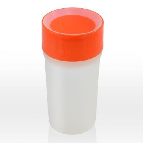 Preisvergleich Produktbild litecup-no spill Schnabeltasse leuchtet Vivid Orange