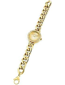 Just Cavalli Damen-Armbanduhr Analog Quarz Edelstahl R7253212502