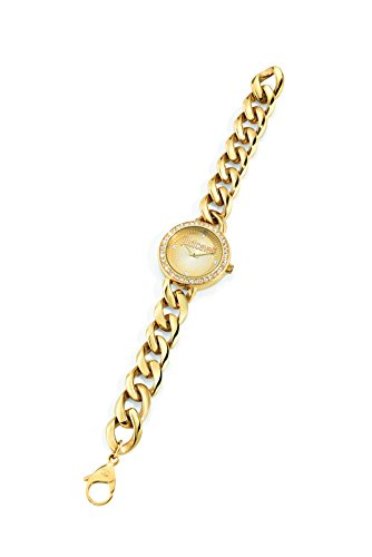 Just Cavalli Damen-Armbanduhr J Chain Analog Quarz Edelstahl R7253212502
