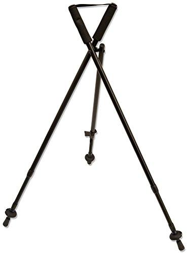 Nitehawk - Teleskop-Zielstock/Tripod Dreibeinstativ für die Jagd/Schießsport - Wanderstock - Verstellbar