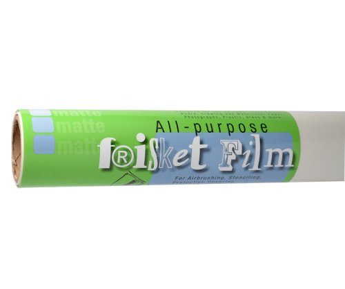 Grafix Frisket Film (Grafix All Zweck Low Tack Frisket Film Rolle 24-inch-by-15-yards, matt)
