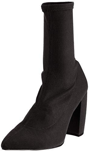 Kenneth Cole Damen Alora Stretch Bootie Stiefeletten, Schwarz (Black 001), 39 EU - Pointy Toe Bootie