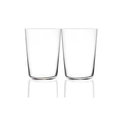 RCR Armonia Gobelets Forme Haute, verre, blanc, 55 cl, Lot de 12, lot de 2