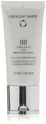 Estee Lauder Bianco Crescent Full Cycle Illuminante BB Cream SPF 50 unisex, Cura del viso, 1er Pack (1 x 30 ml)