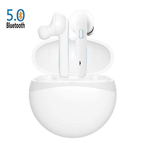 Cuffie Senza Fili Bluetooth 5.0 Super Bass True Wireless Sport In-ear Auricolari 40 Ore Playtime IPX4 Impermeabile per IOS Android...