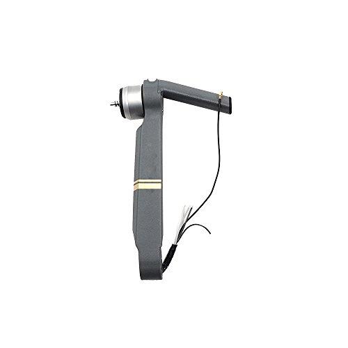 Hunpta Rahmen Kit links vordere Motor Querlenker Reparatur Karosserieteile für DJI Mavic Pro Drohne (grau)