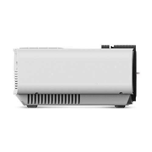 Bright Love Heimkino-Projektor, Artlii HD-Videoprojektor, Tragbarer Videoprojektor Mit HDMI-USB AV VGA SD, 800 * 480 Pixel Unterstützung 1080P Für Sportveranstaltungen,White