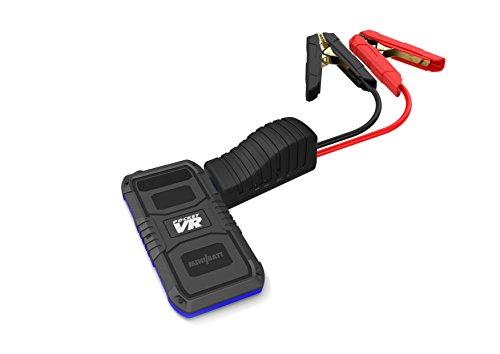 Minibatt – Jump Starter Batería Arrancador de Coche (Batería Externa Recargable, LED Flashlight, Multifunción, Con pinzas inteligentes)