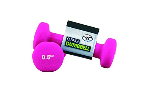 Yoga-Mad Fitness Mad Neo Dumbbell Pair 2 x 0.5Kg , Pink