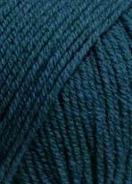 Lang Yarns Cash Soft-colore: Petrol (0088)-50G/circa 100m lana