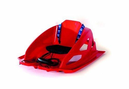 AlpenGaudi Kunststoffrodel AlpenBambino Rot 6,75 cm auf Amazon