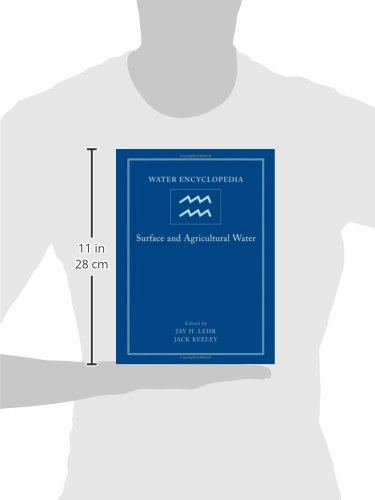 3: Water Encyclopedia: Surface and Agricultural Water
