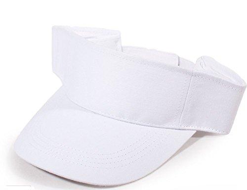 Fletion Damen Herren Unisex Adult Outdoor-Sportarten Sonnenblende justierbarer Hut Laufen Tennis Golf-Kappe
