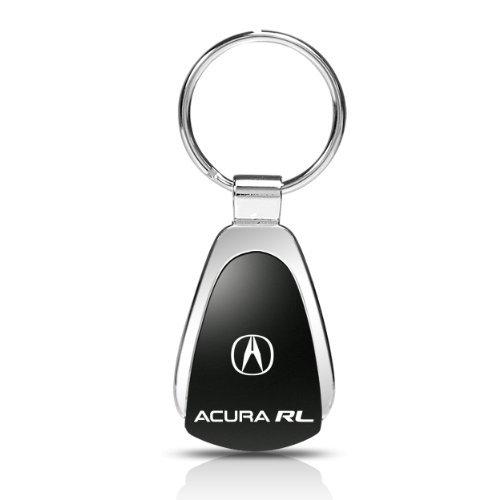 acura-rl-black-tear-drop-key-chain