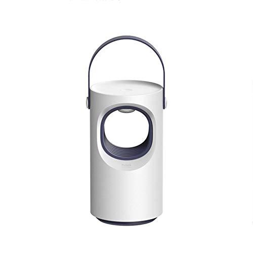 USB Mücken Vernichter Elektronisch Lampe Moskito Insekten Falle USB LED Fliegen Pest Fänger Mücken Mörder Lampe Physical Sicher Nicht Giftig Leise Schädlings Vertreiber (Elektronische Gärten Feuchten)