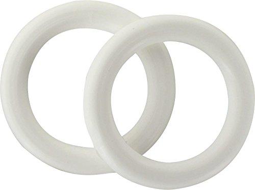Anneau Ateliers 28 - Blanc - Diamètre 20 mm - Vendu par 10