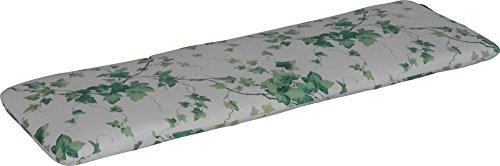 Angerer Bankauflage Design Efeu, grün, 120 x 40 x 6 cm, 714/045