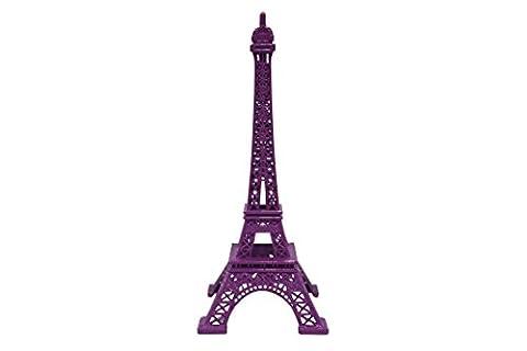 Tour Eiffel/Eiffel tower en métal 30cm - Souvenir de Paris