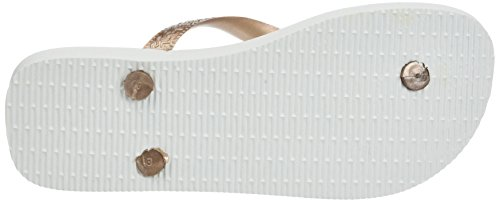 Havaianas Spring, Infradito Donna Rosa (White/Rose Gold/Rose Gold 8546)