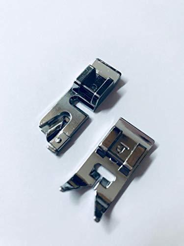 Standard Nähfuß Zick Zack + Rollsaumfuß Nähfuß für Silvercrest Nähmaschinen