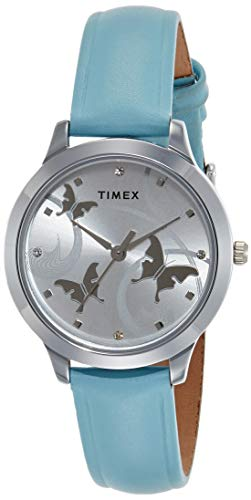 Timex Analog Silver Dial Women's Watch-TW00ZR276E
