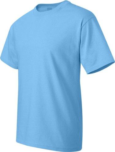 Hanes -T-shirt  Uomo Blu acquatico